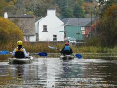 Kayaking in Cong